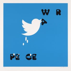Frances Stark -Proposal for a Peace Poster - 2017