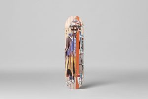 """Jean-Michel Basquiat - Skate deck """"Anthony Clarke"""""""