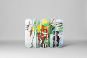 "Jean-Michel Basquiat - Skate deck ""Untitled"""