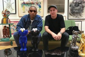 KAWS - BFF Black & Blue