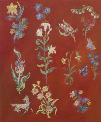 Karen Kilimnik - The floral kingdom of the Renaissance -2017