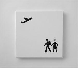 Peter Fischli -Logo Painting -2017