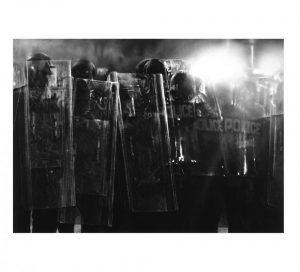 Robert Longo - Riot Cops - 2017