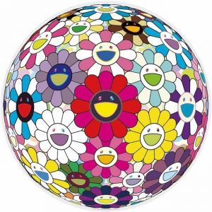 Takashi Murakami - Flowerball: Open Your Hands Wide - 2016