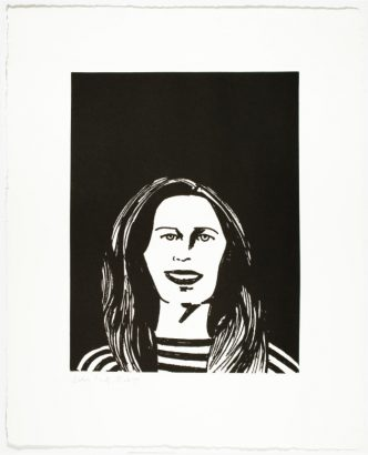 Alex Katz -You Smile and the Angels Sing - 2017 (Alba)