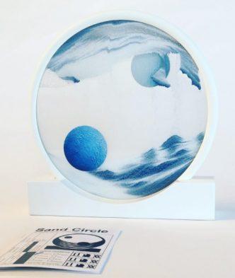 Daniel Arsham - Sand Circle - 2017