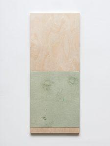 Fredrik Værslev -Untitled (Monochrome wall-flushing canopy for Bonner Kunstverein) - 2017
