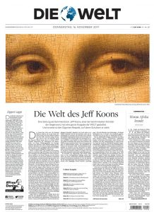 Jeff Koons - Die Welt - Collector's Edition - 2017