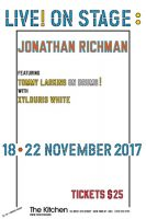 Lawrence Weiner -LIVE! ON STAGE: JONATHAN RICHMAN - 2017