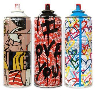 Mr Brainwash -Can I Love You! -Frankenstein Spray -Hearts Spray