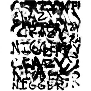 Adam Pendleton - Crazy Nigger (for Julius Eastman) - 2018