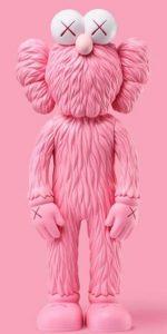 KAWS - BFF Pink