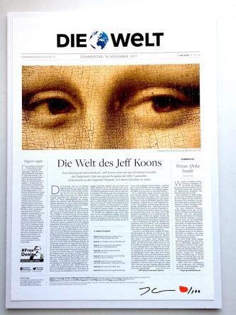 Jeff Koons - Die Welt - Collector's Edition - 2018