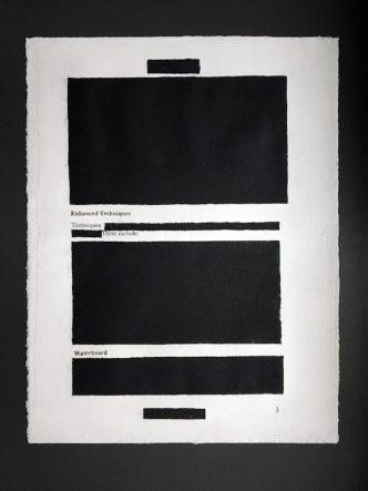 Jenny Holzer - Enhanced Techniques 3 - 2012
