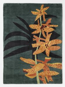 Jonas Wood -Yellow and Orange Orchid Clipping -2018