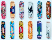 Maurizio Cattelan - Toiletpaper skate decks - 2018