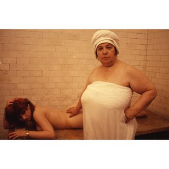 Nan Goldin - Lydia Lunch at the Russian baths, New York, 1985 - 2018