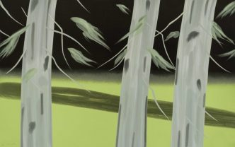 Alex Katz - Three Trees - 2018