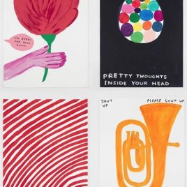 David Shrigley - 4 new prints