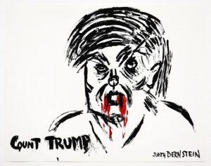 Judith Bernstein - Count Trump