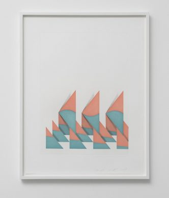 Tomma Abts -Untitled (Triangles) - 2018