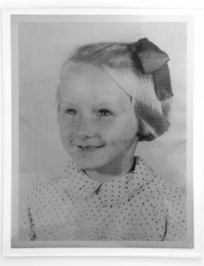 Jeremy Deller -Untitled [Photograph of Aneira Thomas age 5, the first baby born on the NHS] - 2018