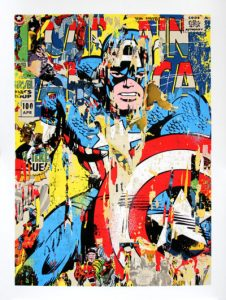 Mr Brainwash - Captain America - 2018