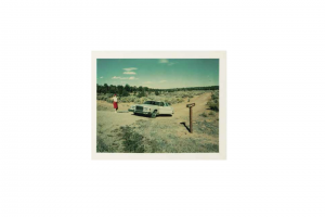 Wim Wenders -Red Skirt, Valley of the Gods, Utah 1997 - 2018