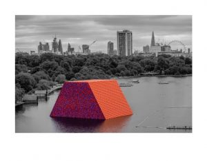 Christo and Jeanne-Claude - The London Mastaba- 2018