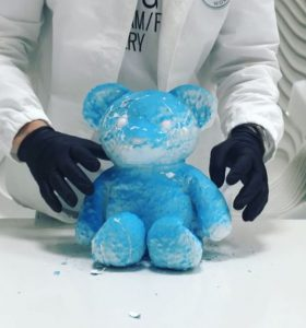Daniel Arsham - Cracked Bear - 2018