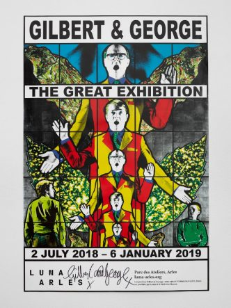 Gilbert & George - The Great Exhibition, Luma Arles - 2018