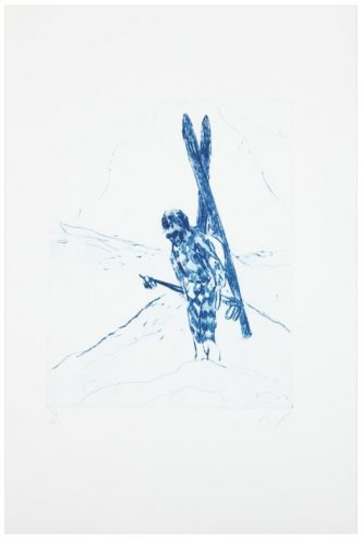 Peter Doig -Alpiniste - 2005