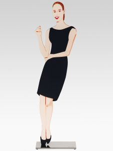 Alex Katz - Black Dress Sculpture 5 - Ulla