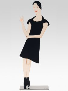 Alex Katz - Black Dress Sculpture 7 - Carmen