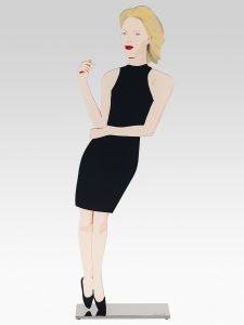 Alex Katz - Black Dress Sculpture 8 - Ruth