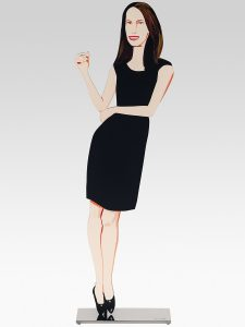 Alex Katz - Black Dress Sculpture 9 - Christy