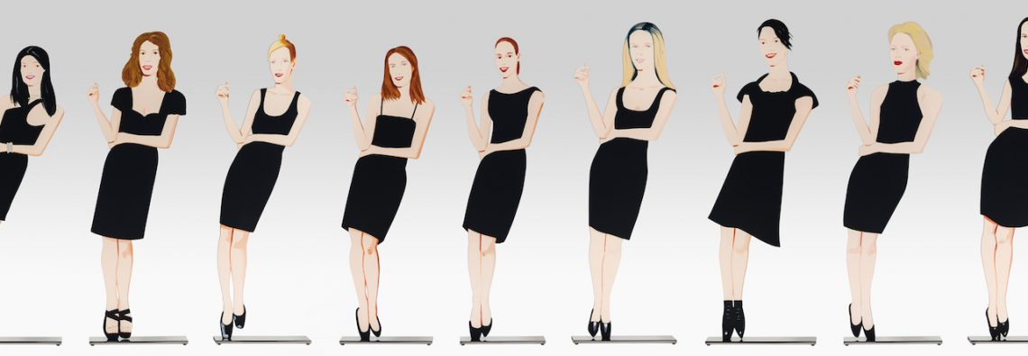 Alex Katz - Black Dress Sculptures - 2018