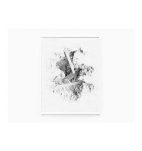 Daniel Arsham - Selenite Erosion Wallpaper - 2018