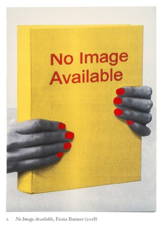 Fiona Banner - No Image Available (print) - 2018