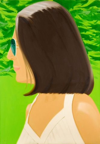 Alex Katz - Ada in Spain - 2018