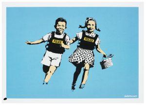 Banksy -Jack & Jill - 2005