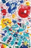 Sam Francis -Untitled (SF-358) - 1993