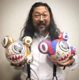 Takashi Murakami X Complexcon – Mr Dob (Set of 2) - 2016
