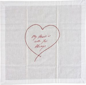 Tracey Emin - My Heart Is With You Always - 2015