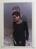 Wolfgang Tillmans - Parkett edition - showing Alex in a double exposure - 1998