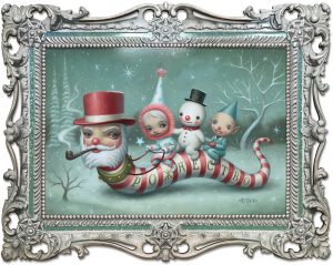 Mark Ryden- Santa Worm - 2018