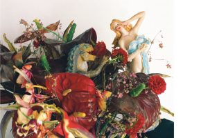 Nobuyoshi Araki - Untitled ( a.d.S. Flower/Doll) -2018