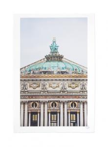 JR - Ballet, Regard surplombant la façade du Palais Garnier, Opéra de Paris, France, 2014 - 2018