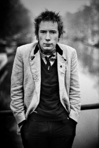 Anton Corbijn - Johnny Rotten, Amsterdam 1977 - 2018
