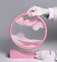 Daniel Arsham - Sand Circle (pink) - 2019